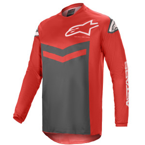Tricou Alpinestars Fluid Speed Bright Red/Anthracite