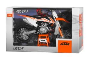 Macheta KTM 450 SX-F 450/19 1:12