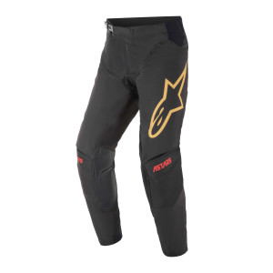 Pantaloni Alpinestars Techstar Venom Black/Bright Red/Orange