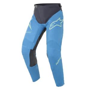 Pantaloni Alpinestars Racer Braap Ocean Blue/Mint