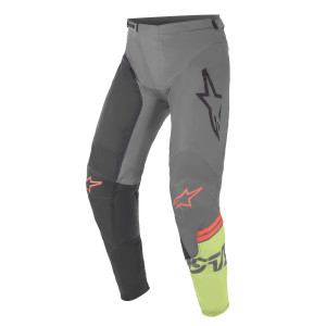 Pantaloni Alpinestars Racer Compass Dark Gray/Black/Green Fluo