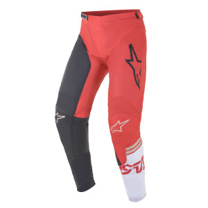 Pantaloni Alpinestars Racer Compass Anthracite/Red Fluo/White