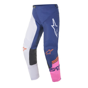 Pantaloni Alpinestars Racer Compass Blue/White/Pink