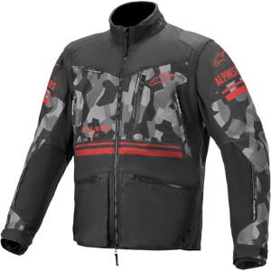 Geaca Alpinestars Venture R Gray Camo/Red Fluo